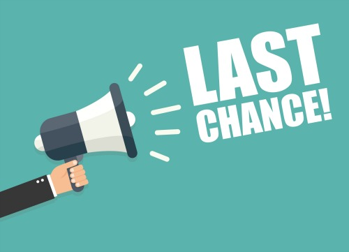 Last chance to register for winter courses
